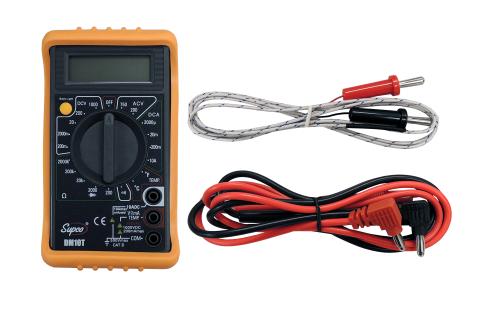 DM10T Digital Multimeters Supco with Temperature